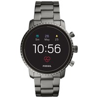 Fossil Q Ftw4012 'S Explorist Bracelet Strap Touch Screen Smartwatch Gunmetal Black