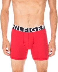 Tommy Hilfiger Striped Boxer Briefs Mahogany