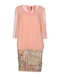 Lunatic Dresses Short Dresses Women Salmon Pink