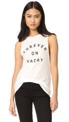 Clayton Vacay Muscle Tank White