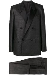 Givenchy Classic Double Breasted Suit Black