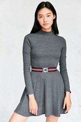 Urban Outfitters Elastic Belt Purple