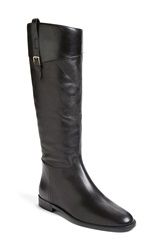 Burberry 'Copse' Riding Boot Women Black Leather