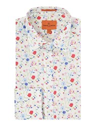 Simon Carter Liberty Spring Garden Print Shirt Multi Coloured