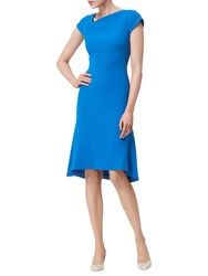 Lk Bennett L.K. Ire Fit And Flare Dress Andaman Blue