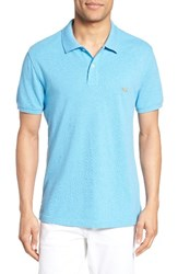 Rodd And Gunn Men's 'The Gunn' Pique Sports Fit Cotton Polo Lagoon