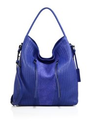 Linea Pelle Gianna Topstitched Leather Hobo Bag
