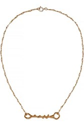 Alighieri The Spectre Gold Plated Necklace One Size