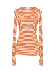 Patrizia Pepe Sweaters Orange