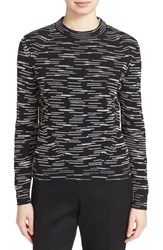 M Missoni Women's Space Dye Wool Blend Crewneck Sweater