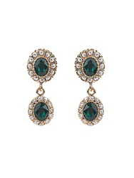 Givenchy Crystal Embellished Magnetic Earrings
