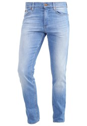 Hugo Boss Green Cdelaware Slim Fit Jeans Light Blue