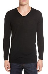 John Varvatos Men's Star Usa V Neck Sweater