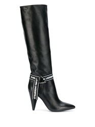 Karl Lagerfeld Montero High Slouch Boots 60