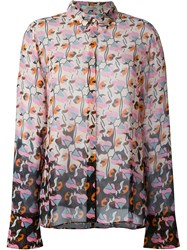 Dorothee Schumacher Abstract Print Shirt Nude And Neutrals