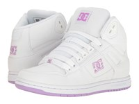 Dc Rebound High Tx White Lilac Women's Skate Shoes Purple