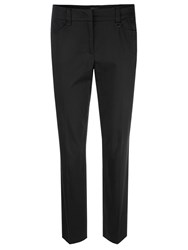 Marc Cain Tapered Leg Trousers Black