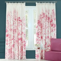 Bluebellgray Frankie Pleat Curtains Pink