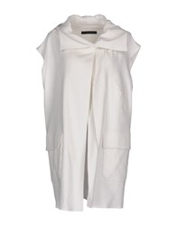 Brian Dales Coats And Jackets Overcoats White