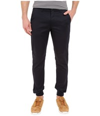 Rustic Dime Sunset Jogger In Navy Stretch Twill Navy Stretch Twill Men's Casual Pants Blue