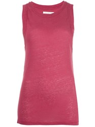 Etoile Isabel Marant Classic Tank Top Pink Purple