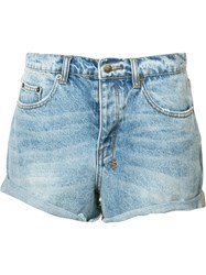 Ksubi Denim Shorts Blue