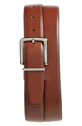 Cole Haan Big And Tall Reversible Leather Belt British Tan Black