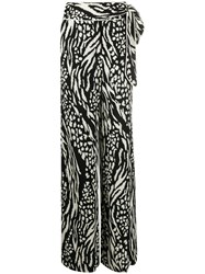 Veronica Beard All Over Print Trousers 60
