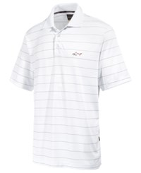 Greg Norman For Tasso Elba Men's 5 Iron Classic Striped Performance Polo Only At Macy's Bright White
