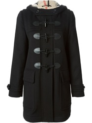 Burberry Brit Duffle Coat Black