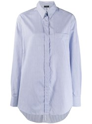 Joseph Chest Pocket Shirt Blue