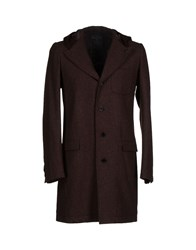 Final Home Coats And Jackets Coats Men Cocoa