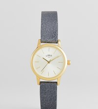Limit 26Mm Leather Watch In Black Exclusive To Asos