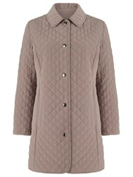 Eastex Longline Quilted Raincoat Neutral