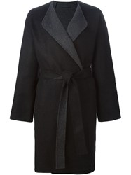 The Row 'Strayner' Coat Grey