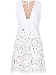 Stella Mccartney 'Aline' Dress White