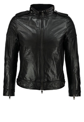 J. Lindeberg J.Lindeberg Tyron 51 Leather Jacket Black