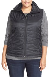 Plus Size Women's Columbia 'Mighty Lite Iii' Quilted Vest Black