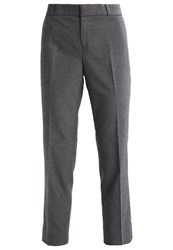 Banana Republic Avery Trousers Dark Charcoal Dark Grey