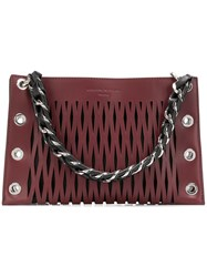 Sonia Rykiel Double Pouch Purple