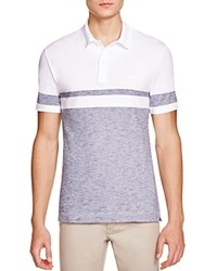 Lacoste Color Block Regular Fit Polo Shirt White Mineral Mouline