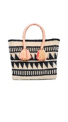 Yosuzi Kalinda Tote Bag Black Multi