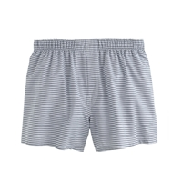 J.Crew Horizontal Striped Boxers Union Blue