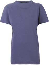 Haider Ackermann 'Chaos' T Shirt Blue