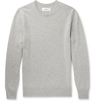 Hardy Amies Slim Fit Cashmere Sweater Gray