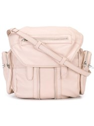 Alexander Wang 'Marti' Backpack Pink Purple