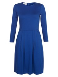 Hobbs Emma Dress Dark Cobalt