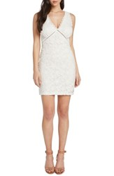 Willow And Clay Lace Body Con Dress Vellum