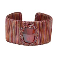Boks And Baum New York Cuff Bracelet Red Passion