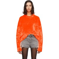 Alexander Wang Orange Chynatown Sweatshirt